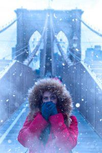NY en hiver